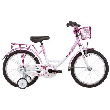 "Vélo Enfant VERMONT GIRLY 18"" Rose/Blanc"